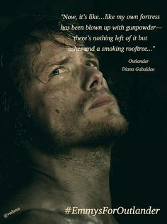 "Jamie Fraser in ""Outlander"""