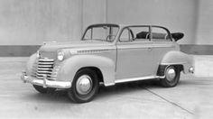 Opel - 1950 - Opel Olympia Cabriolet sedan, 1950–1951.