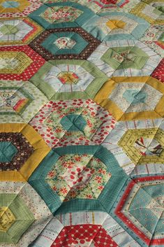 Early Bird quilt top based on American Jane's pattern Merry Go Round