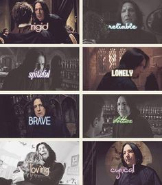 The Qualities of Severus Snape <3