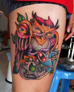new school tattoo - Google Search