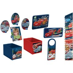 Disney Pixar Cars Decor in a Box $17.00