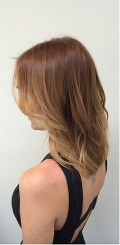 The challenge with brunettes that want highlights is to make sure the contrast between the highlights and natural color are not so great that you end up with a streaky look. Here is an example of b…