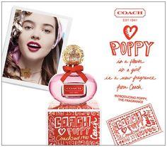 Coach Poppy perfume.