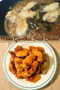 Fried Chicken is a comfort meal so many of us love. My mother makes amazing fried chicken wings that only require 5 ingredients. Chicken, onion powder, black pepper and flour. Click the link for the recipe!