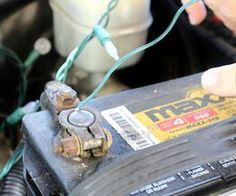 How to Connect Christmas Lights to a Car Battery | eHow