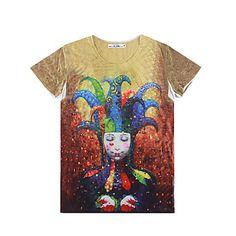 rr cumpăra modă mâneci scurte 3d-print t-shirt pentru bărbați – USD $ 9.99