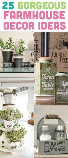 Farmhouse decor ideas perfect to decorate your home | DIY Farmhouse Ideas | Life Hacks | Teal Notes |