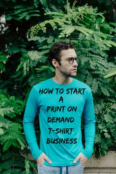 how to start a print on demand tshirt business - Shopify Website Builder - Build the Shopify Ecommerce site within 30 minutes. - The exact steps I used to launch a profitable print-on-demand t-shirt business with Shopify! Business Marketing, Online Business, Business Help, Craft Business, Business Ideas, Diy Art, Positivity Blog, Tshirt Business, Drop Shipping Business