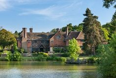 A Sprawling Tudor-Style English Manor for Sale