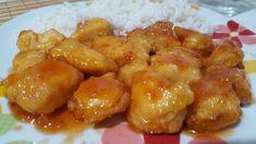 PIEPT DE PUI IN SOS DULCE ACRISOR | MICIBUCATARI Romanian Food, Pretzel Bites, Ketchup, Yummy Food, Bread, Chicken, China, Sweets, Delicious Food