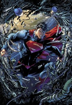Superman Unchained (by artist Jim Lee)