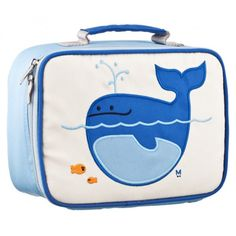 These insulated lunch boxes are a playful way to keep tuna sandwiches and carrot sticks fresh until lunch time. Made with heavy-duty nylon and machine washable for kid-proof durability and easy cleaning. Back side has a name tag and a zipped pocket. Tested PVC Free, phthalate free, and lead free