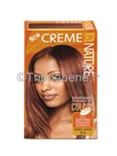 coloration de cheveux bronze cuivre creme of nature les colorations creme of nature donnent une - Coloration La Rich