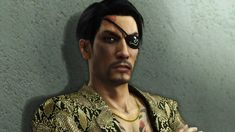 Majima Goro in Yakuza 6 Trailer. Can't wait for the european release!