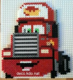 Mack Cars hama perler beads by Deco.Kdo.Nat
