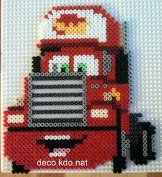 Mack Cars hama perler beads by Deco.Kdo.Nat