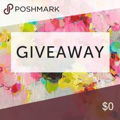 It's almost FRIYAY! 🎉 1st Giveaway ! 💕 Hello!! I decided to host my very first giveaway! Here are the rules;  ➡️ Like Facebook Page: Chariboutique ➡️ Follow & Share on Insta & Posh: Chariboutique 💕   Don't forget to comment w/ your closet name💕ALL 3 REQUIREMENTS MUST BE MET TO QUALIFY FOR GIVEAWAY!  Winner will have the option to pick between an item from my closet under $15 or a $15 discount on ANY item! NEW INVENTORY WILL BE ADDED ON MONDAY.Giveaway ends 3/17 at 12 pm. Winner will be…