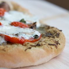 Whole wheat pizza dough - I often substitute white wheat flour in my baking, so this seems like a good one to try instead of the regular dough I make.