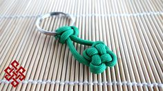 Clover Knot Paracord Key Chain Tutorial