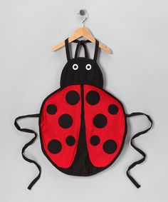 Whim Ladybug Apron - Kids (cute!)