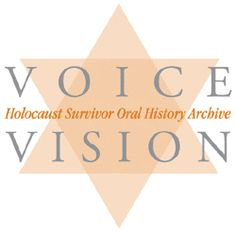 Voice/Vision Holocaust Survivor Oral History Archive - Since Dr. Teaching Social Studies, Teaching History, Teaching Kids, Holocaust Survivors, Holocaust Unit, Night By Elie Wiesel, European History, American History, Museum Education