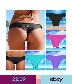 cfdb989b2f2b62 Swimwear Hot Brazilian Scrunch Women s Thong V Bikinis Bottom Swimwear  Bathing Beachwear