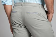 Grey Dogs | Bonobos Grey Washed Chinos - I love the contrast pocket lining. These pants are great.