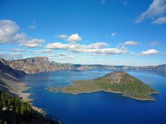 Crater Lake is a caldera lake and is one of the most spectacular natural wonders of North America.