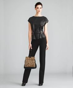 Leather in the Fall line
