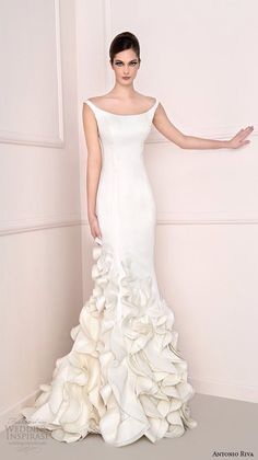 Make a lasting impression with this unique wedding dress design