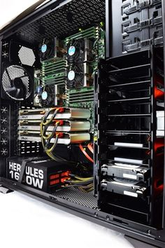Titan A450 - Quad CPUs AMD Opteron Abu Dhabi 6300 Series HPC Super Workstation PC up to 64 cores | This is the best computer to run Matlabs and all HPC applications