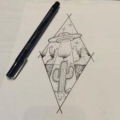 A fun ufo piece for tomorrow so stoked #tattoos #tattooed #tattoodesign #cactustattoo #ufotattoo #blackworktattoo #blackworktattoos #supportgoodtattooers #vancity #vancouver #portmoody #birdietattoos #604 #tattooartist #cactus #ufo #linedrawing #art #drawing @blackrabbittattoo
