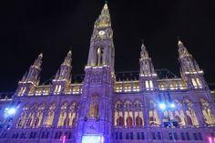 Winterwonderland Vienna city hall Vienna, Cologne, Cathedral, City, Building, Travel, Viajes, Buildings, Traveling