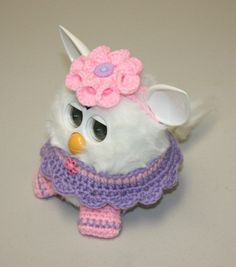New Handmade Crochet Outfit Clothes Accessories for Furby Boom Pretty | eBay