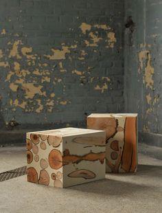 Diy Chic Concrete Projects – Información útil – Diy furniture – New Epoxy Concrete Furniture, Concrete Wood, Concrete Design, Wood Design, Diy Furniture, Furniture Design, Cement, Modern Design, Furniture Stores
