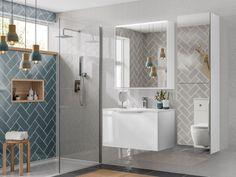 Sleek Bathroom Tiles