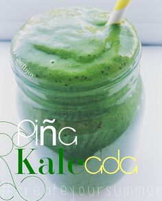 Super Green Piña Colada Smoothie!! Shared by Dbjoy! 2 cups fresh kale 1/2 cup fresh pineapple chunks 1/2 frozen banana 1 packet vanilla Perfect Fit Protein 1/2 cup unsweetened coconut flakes 1 tsp Chia seeds 1 tsp raw honey 1/2 cup unsweetened coconut milk 1/2 cup pure pineapple juice Blend and enjoy :)