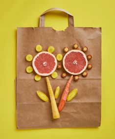 This is my prototype of the one and only, truly organic, green, sustainable, recyclable, unbeatable shopping bag around. Designed and handmade in California, US. #giphy #gif #foodgif