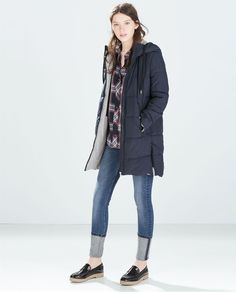 Image 1 of LONG PUFFER JACKET from Zara