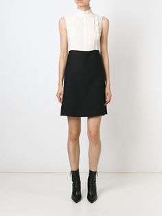 Valentino pleated top dress