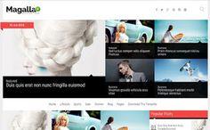Magalla Blogger Template | Blogger Templates Gallery