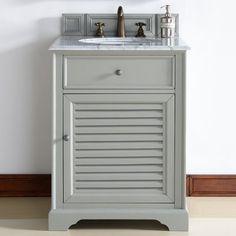 "James Martin Furniture Savannah 26"" Single Bathroom Vanity Base Base Finish:"