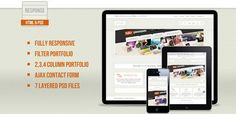 Fresh Collection of Free Website HTML Templates