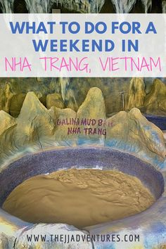 Nha Trang is a coastal resort city in the South of Vietnam. It's known for its beaches, diving spots, and nightlife scene. Here is a Weekend Guide to Nha Trang. #nhatrang #vietnam #weekendguide #weekendgetaway #asia #travel #travelblogger #