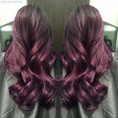 Beautiful Plum Ombre