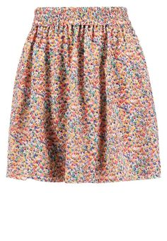 """Compañía fantástica. Pleated skirt - multicolor. Our model's height:Our model is 71.0 """" tall and is wearing size S. Fit:regular. Outer fabric material:100% polyester. Pattern:colourful. Care instructions:do not tumble dry,machine wash at 30°C,Mac..."""