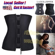 Body Shaper Lingerie Waist Trainer Underbust Cincher Corset Plus Size Girdle Top