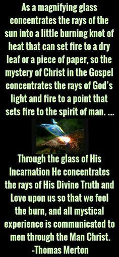 Thomas Merton Christian Living, Christian Faith, Thomas Merton Quotes, Contemplative Prayer, Spiritual Sayings, Les Religions, June 24, Keep The Faith, Son Of God