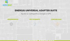 Software Propio para Ajustar Cartografía a Google o GPS Software, Map, Google, Location Map, Maps